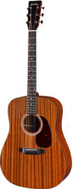 GUITARE ACOUSTIQUE E2D DREADNOUGHT EN ETUI EASTMAN