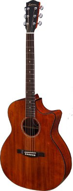 GUITARE ELECTRO-ACOUSTIQUE PCH1-GACE-CLASSIC GRAND AUDITORIUM PACIFIC COAST HIGHWAY EASTMAN