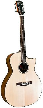 GUITARE ELECTRO-ACOUSTIQUE PCH1-GACE GRAND AUDITORIUM PACIFIC COAST HIGHWAY EASTMAN