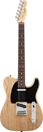 TELECASTER AMERICAN STANDARD NATURELLE TOUCHE PALISSANDRE
