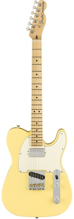 TELECASTER AMERICAN PERFORMER HUM VINTAGE WHITE TOUCHE ERABLE