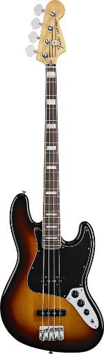 JAZZ BASS 70' SUNBURST TOUCHE PALISSANDRE FENDER