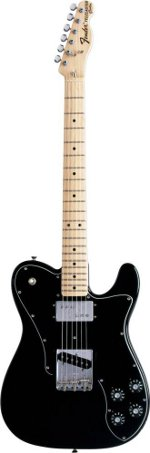 TELECASTER CLASSIC SERIE '72 CUSTOM BLACK TOUCHE ERABLE FENDER