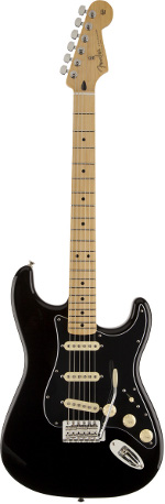 STRATOCASTER MEXICAN FSR BLACK-MAPLE FENDER