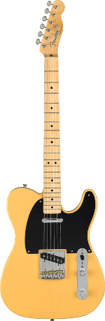 TELECASTER BAJA CLASSIC PLAYER BLONDE TOUCHE ERABLE FENDER