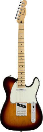 TELECASTER PLAYER 3 TONS SUNBURST TOUCHE ERABLE FENDER