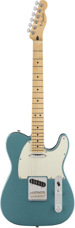 TELECASTER PLAYER TIDEPOOL TOUCHE ERABLE FENDER