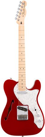 TELECASTER DELUXE THINLINE CANDY APPLE RED FENDER