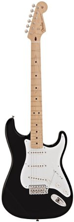 STRATOCASTER ERIC CLAPTON BLACK FENDER CUSTOM SHOP