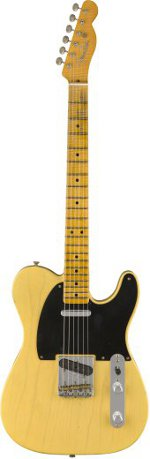 TELECASTER 1951 JOURNEYMAN RELIC NOCASTER BLONDE FENDER CUSTOM SHOP