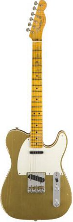 TELECASTER 2018 LTD Double ESQUIRE SPECIAL JOURNEYMAN RELIC - AZTEC GOLD