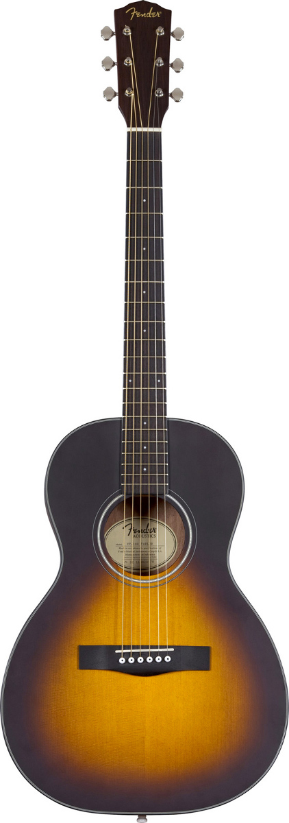 fender guitare guitare acoustique cp100 parlor. Black Bedroom Furniture Sets. Home Design Ideas