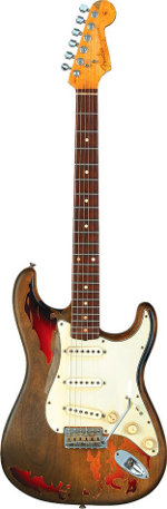 STRATOCASTER RORY GALLAGHER FENDER CUSTOM SHOP