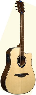 GUITARE ELECTRO-ACOUSTIQUE THV20DCE HYVIBE EPICEA/OVANGKOL CW NATUREL LAG