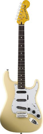 STRATOCASTER Vintage Modified '70s Maple Fretboard -Vintage white SQUIER