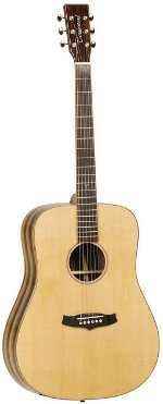 GUITARE ACOUSTIQUE JD CEDRE MASSIF TANGLEWOOD