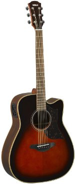 GUITARE ELECTRO-ACOUSTIQUE A1RIITBS TOBACCO BROWN SUNBURST YAMAHA