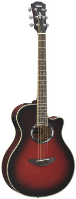GUITARE ELECTRO-ACOUSTIQUE APX500IIDSR DUSK SUN RED YAMAHA