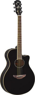 GUITARE ELECTRO-ACOUSTIQUE APX600 BL BLACK YAMAHA