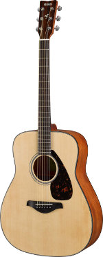 GUITARE ACOUSTIQUE FG800MNT NATURELLE MAT YAMAHA