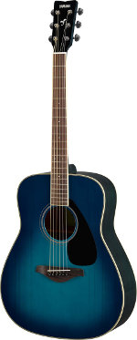 GUITARE ACOUSTIQUE FG820SB SUNSET BLUE YAMAHA