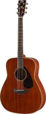 GUITARE ACOUSTIQUE FG850NT NATURAL YAMAHA